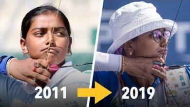 Deepika Kumari Archery Technique Evolution 2011 2019 Qmtllbiutek Image