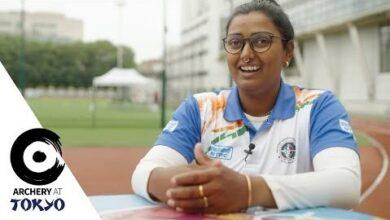 Deepika Kumari Is The World 1 Arriving At The Olympics Archeryattokyo F6Y71Z6W4Z8 Image