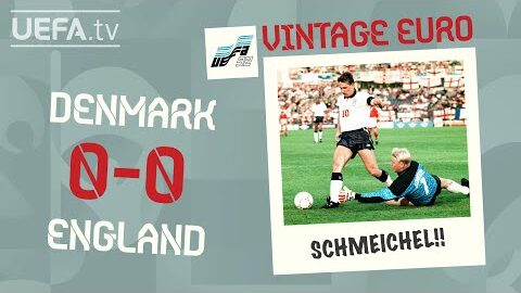 Denmark 0 0 England Euro 1992 Vintage Euro Vpa9Kza0 J8 Image