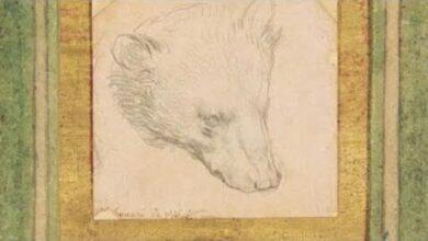 Desenho De Leonardo Da Vinci Atinge Recorde E8U74Ga58Tc Image