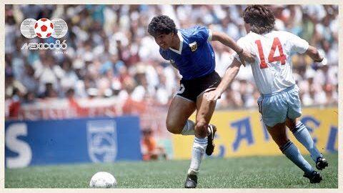 Diego Maradona Challenge Recreating Goal Of The Century