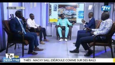 Direct 7Adebattre Choc Des Arguments Sur La Loi Sur Le Terrorisme Et La Visite De Macky A Thies 5Yzfkarchrk Image