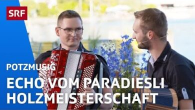 Echo Vom Paradiesli Holzmeisterschaft Uf Em Brandbarg Potzmusig Srf Musik Sybvxxq09Cc Image