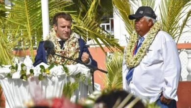 Emmanuel Macron Assume Erros De Testes Nucleares Na Polinesia Francesa Xc5Vh1Gambs Image