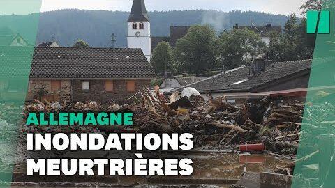 En Allemagne Les Intemperies Font Au Moins 19 Morts Et De Nombreux Disparus 5P7 Kfuvmnq Image
