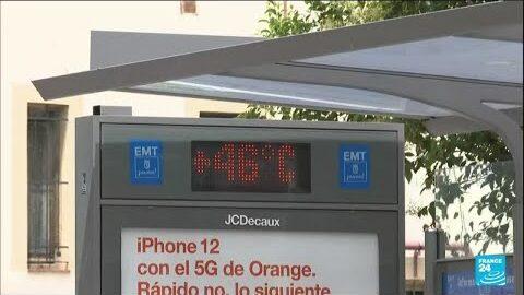 En Espagne Une Vague De Chaleur Frappe Madrid Et Seville O France 24 Ifgm9Kjdz8U Image