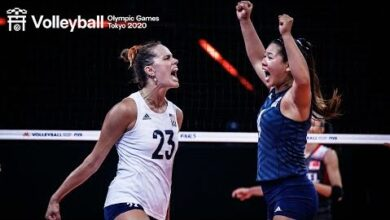 Epic Plays By Womens Team Usa Vnl Champions Of 2021 Volleyball World Zj3Vawfxt4C Image
