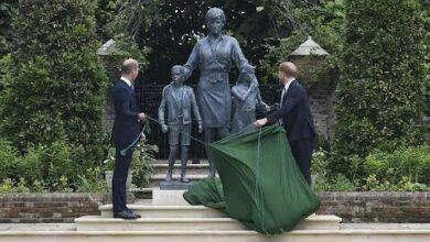 Estatua Comemora Os 60 Anos Da Princesa Diana 3L8R Ca3Zjc Image