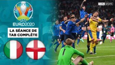 Euro 2020 Italie Angleterre La Seance De Tab Complete Hj Wydnghc8 Image