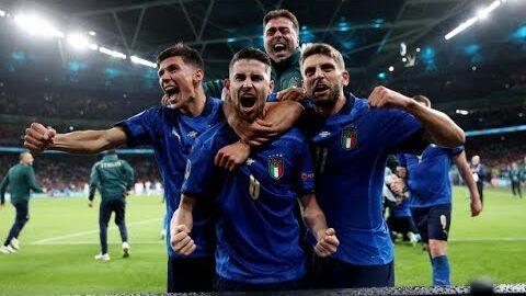 Euro 2020 Litalie Bat Lespagne Aux Tirs Aux Buts Et Se Qualifie Pour La Finale Za27Qicjw8C Image