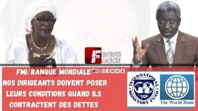 Fmi Banque Mondiale Nos Dirigeants Doivent Poser Leurs Conditions Quand Ils Contractent Des Dettes T7Vobrh5Jn8 Image