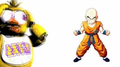 Fnaf Characters And Their Favorite Dragon Ball Characters Yb7Uoslxlji Image