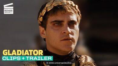 Gladiator Meilleures Scenes Bande Annonce Russell Crowe Joaquin Phoenix Dvpa7K2Hebk Image