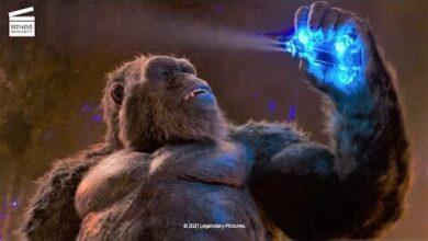 Godzilla Vs Kong Ils Tentent De Quitter La Terre Creuse Clip Hd 9Czpjzinphk Image
