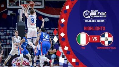 Italy Dominican Republic Semi Finals Full Highlights Fiba Olympic Qualifying Tournament 2020 Gywcxqlhagu Image