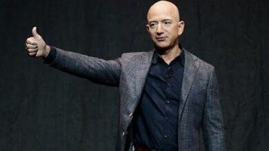 Jeff Bezos Parte Da Amazon Para O Espaco Ft5T4O05M9W Image