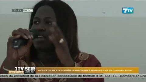 Kaolack Seance De Synthese De Philosophie A Ndiaffate Pour 200 Candidats Au Bac So9Tsjxrz K Image