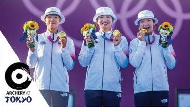 Korean Women Win Ninth Olympic Team Title Archeryattokyo Ylavddp7Sr8 Image