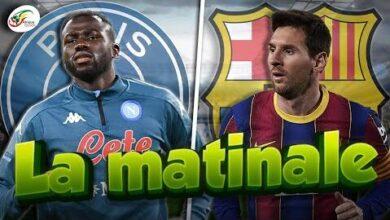 La Reponse De Kalidou Koulibaly Au Psg Le Barca Essuie Un Nouveau Refus De Messi Matinale Otyvzjdjgas Image