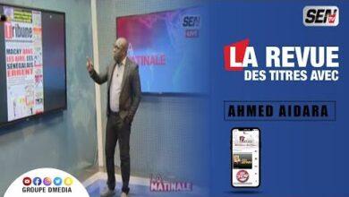 La Revue Des Titres Avec Ahmed Aidara Du 16 Juillet Kjzg Nc6Gkk Image
