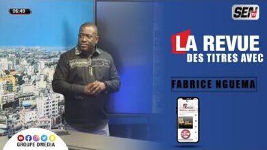 La Revue Des Titres Avec Fabrice Ngema Du 30 Juillet M7Bouqupxie Image