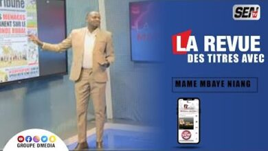 La Revue Des Titres Avec Mame Mbaye Ndiaye Du 30 Juillet Kbkcr36W1J0 Image