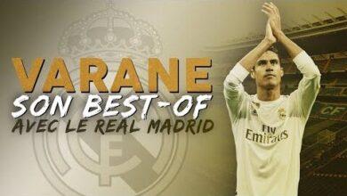 Laliga Le Best Of De Raphael Varane Au Real Madrid 5Byjzlp5Lxg Image