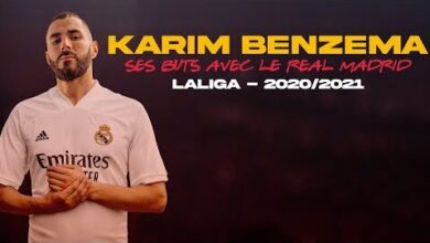 Laliga Les 23 Buts De Karim Benzema Avec Le Real Madrid Cette Saison Ntsv1Xr1Sfg Image