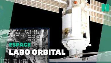 Le Laboratoire Spatial Nauka Sarrime Enfin A La Station Spatiale Internationale 0Fbkkqte M Image