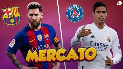 Le Plan Du Barca Avec Messimanchester United Proche De Signer Raphael Varane Mercato
