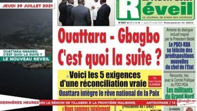 Le Titrologue Du 29 Juillet 2021 Ouattara Gbagbo Cest Quoi La Suite Kq Mhvfzpjm Image