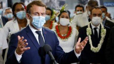 Les Consequences Des Essais Nucleaires Un Sujet Delicat Pour Emmanuel Macron En Polynesie Ixe6Mn9Titi Image