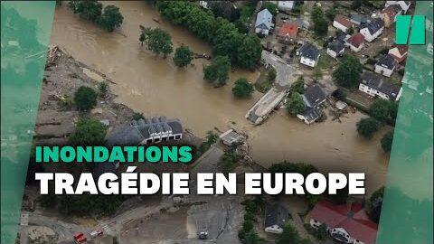 Les Terribles Images Des Inondations En Allemagne Et En Belgique Vues Du Ciel 7Wi6Mol Cvk Image