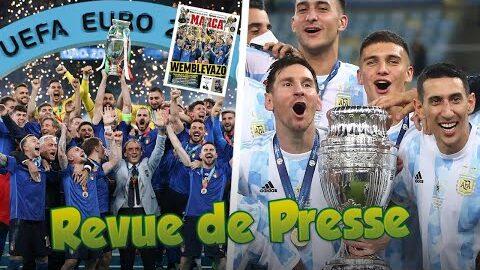 Leurope Senflamme Apres Le Sacre De Litalie A Leuro Messi Ballon Dor Revue De Presse Ehi2F2A33J0 Image