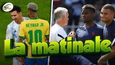 Limmense Hommage De Neymar A Lionel Messi Decshamps Sauve Par Pogba Et Cie Matinale 5Nl8X10Oure Image