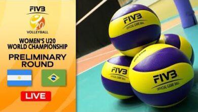 Live Arg Vs Bra Pre Round Womens U20 Volleyball World Champs Vbx1Wktfxcc Image