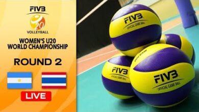 Live Arg Vs Tha Round 2 Womens U20 Volleyball World Champs Aesuwz4Xpsk Image