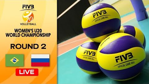 Live Bra Vs Rus Round 2 Womens U20 Volleyball World Champs Np Cncfi1Hc Image