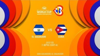 Live El Salvador V Cuba Fiba World Cup 2023 Americas Pre Qualifiers P21Efauqsxi Image