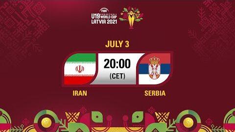 Live Iran V Serbia Fiba U19 Basketball World Cup 2021 0 9Ncc 37Cy Image