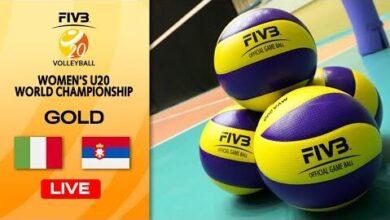 Live Ita Vs Srb Final 1 2 Womens U20 Volleyball World Champs 2D5Evg0E5Hy Image
