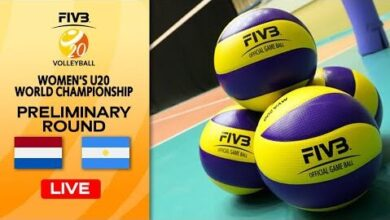 Live Ned Vs Arg Pre Round Womens U20 Volleyball World Champs Gownvpisn7E Image