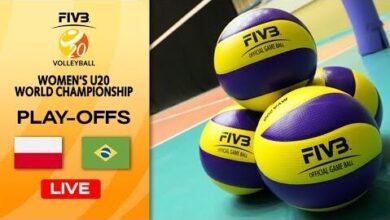 Live Pol Vs Bra Play Offs 5 8 Womens U20 Volleyball World Champs 6Mm15Nxdaje Image