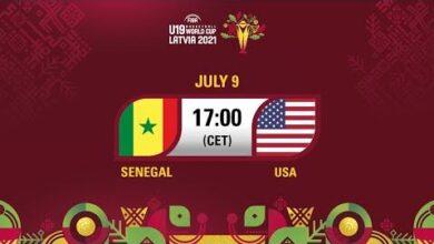 Live Quarter Final Senegal V Usa Fiba U19 Basketball World Cup 2021 Lwdhh Wkivq Image