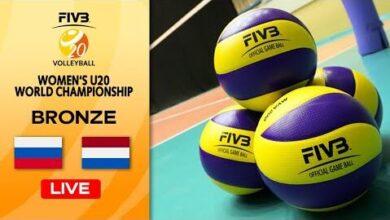 Live Rus Vs Ned Final 3 4 Womens U20 Volleyball World Champs L C1K5G3Aye Image