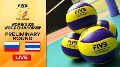 Live Rus Vs Tha Pre Round Womens U20 Volleyball World Champs C0Kbuv6Zjw Image