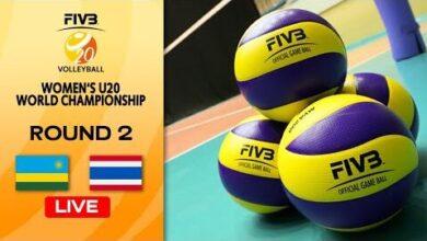 Live Rwa Vs Tha Round 2 Womens U20 Volleyball World Champs Uv45O0Mbsnq Image