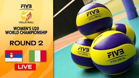 Live Srb Vs Ita Round 2 Womens U20 Volleyball World Champs