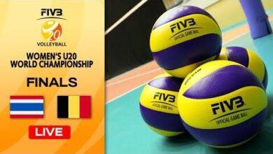 Live Tha Vs Bel Final 13 14 Womens U20 Volleyball World Champs Feqhk5Gj Nc Image