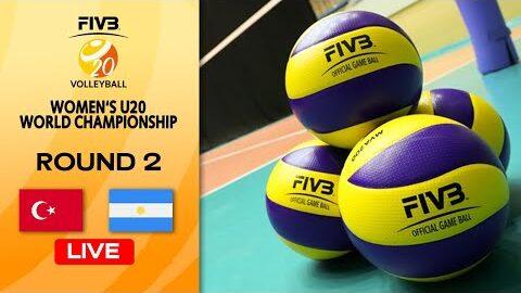 Live Tur Vs Arg Round 2 Womens U20 Volleyball World Champs 2Tg9Cevu7Dq Image